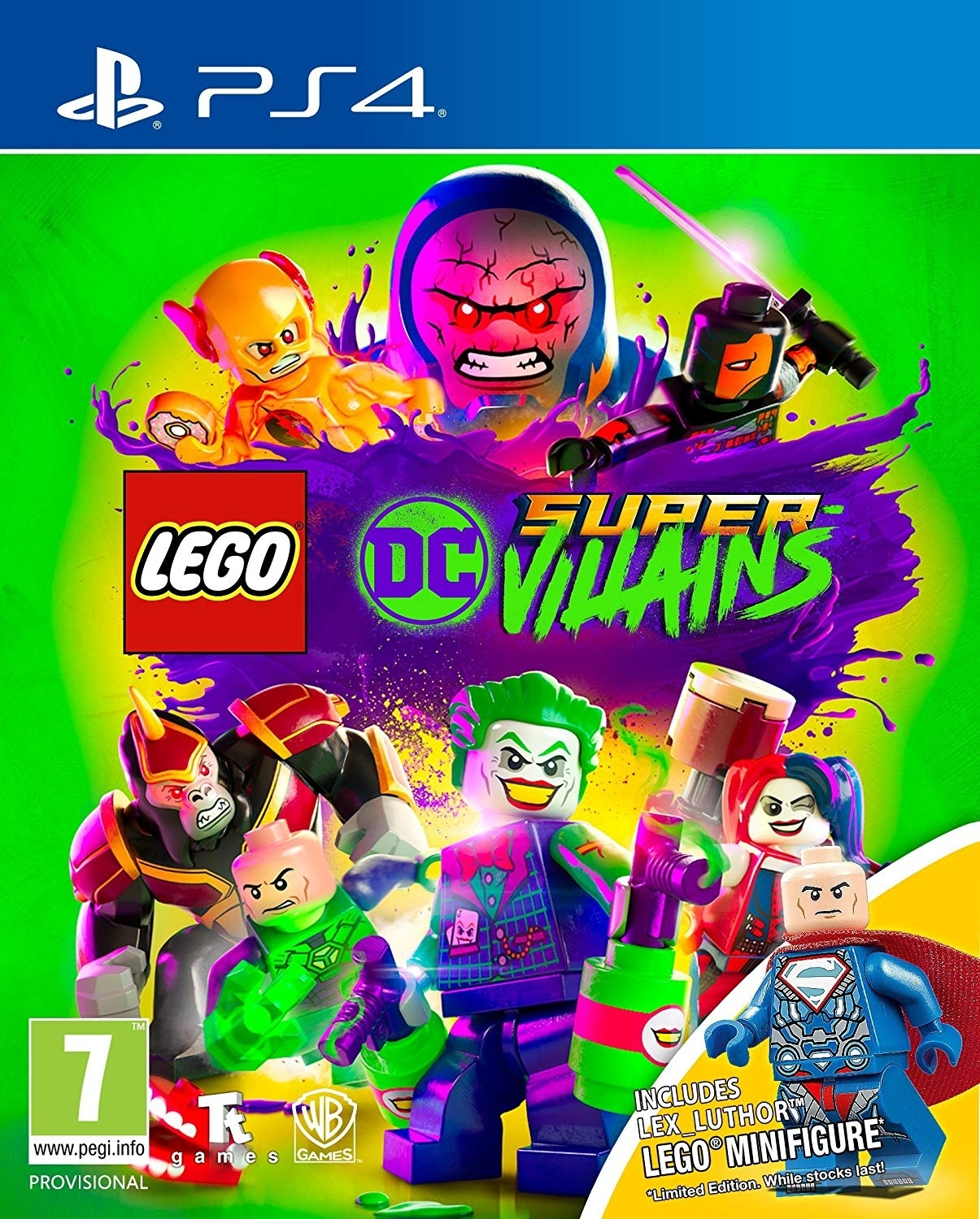 LEGO DC Super-Villains Złoczyńcy PL + Figurka (PS4)
